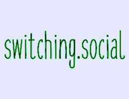 Switching logo